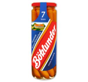 BÖKLUNDER Premium Würstchen