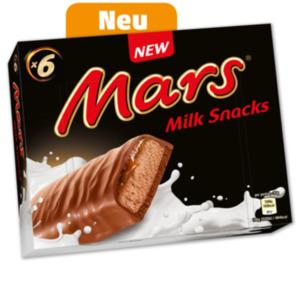 MARS Milchsnack oder BOUNTY Milchsnack