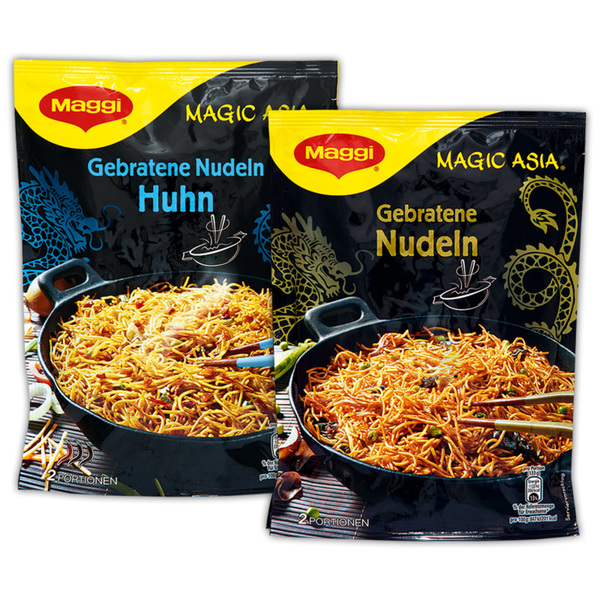 Maggi Magic Asia Gebratene Nudeln