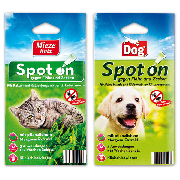 Dog Mieze Katz Spot on