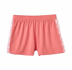 Damen-Hose mit Spitzeneinsätzen