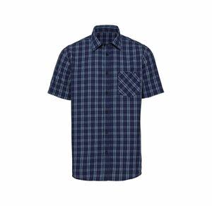 Reward classic Herren-Seersucker-Hemd mit klassischem Karo-Muster