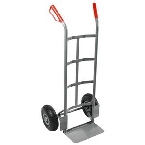 Sackkarre 150 kg mit Stahlrohrgestell und Kunststofffelgen