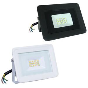 LED Flutlichtstrahler 10 W in zwei Farben aus Aluminium