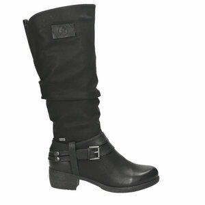 Damen Stiefel, schwarz