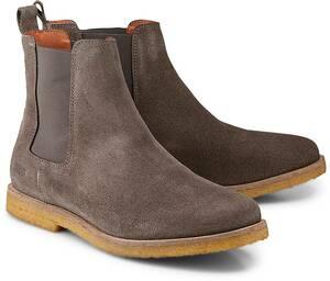 Chelsea-Boots D.taupe von Shoot in taupe für Herren. Gr. 41,43,44,45