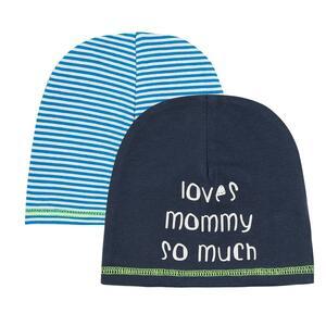 Baby Mütze 2er Pack für Jungen