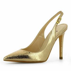 Evita Damen Sling Pumps ALINA, gold, 34
