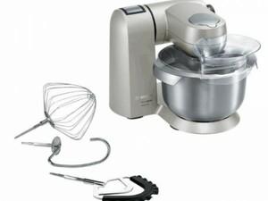 Bosch Küchenmaschine MUM X15TLDE ,  MaxxiMUM grau, silber