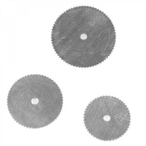 Minikreissägeblätter 3tlg. Set Ø16-19-22mm Holz Kunststoff Kreissägeblätter