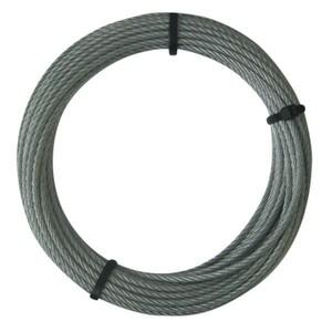 Stahlseil Ø 3 mm 10 m verzinkt
