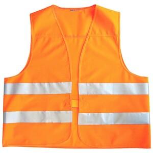 Warnweste EN ISO 20471 in orange