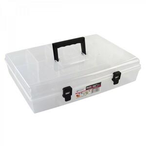 Sortimentskasten 85x298x400 mm 6Fächer Kunststoff Kleinteilemagazin Kleinteilebox