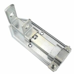 Türschlossriegel gerade 100x50x2mm Stahl verzinkt Schubriegel Türverschluss