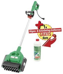 X-Brush Profi Power Reinigungsbürste inklusive Algen- und Grünbelag-Entferner. GartenMeister