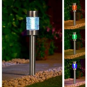 Solar XL Gartenstecker-Leuchte 3er Pack