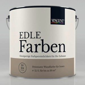 Vincent              Edle Farben Strandgut, 2,5 L