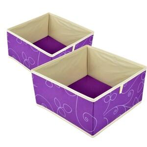 Schubladenbox 27x27x18cm 2 Stück