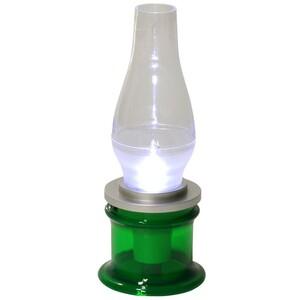 LED Campinglaterne grün 25cm Campinglampe Campingleuchte Tischlampe Zeltlampe