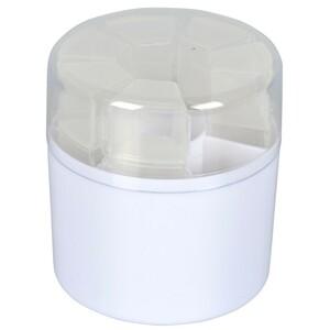 Pillenbox 7Tage rund Kunststoff Pillenspender Pillendose Tablettenbox