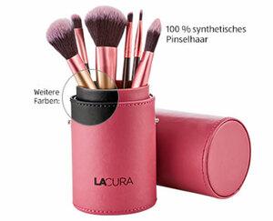 LACURA Kosmetik-Pinsel-Set in exklusiver Box, 6-teilig