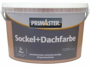 Primaster Sockel- und Dachfarbe ,  5 l, sandsteingelb, matt
