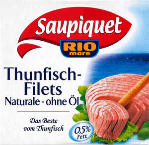 SAUPIQUET  Thunfisch- oder Sardinen-Filets