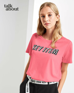 talkabout - T-Shirt mit Wording