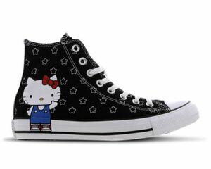 Converse X Hello Kitty Chuck Taylor Allover Print High Black - Damen Schuhe
