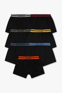 Here and There         Boxershorts - Bio-Baumwolle - 7er Pack