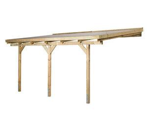 WEKA-Terrassenüberdachung, ca. 347 x 231 cm