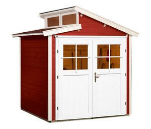 WEKA-Gartenhaus mit versetztem Satteldach, 237 x 252 x 221 cm