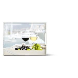 EMSA kratzfestes Tablett CLASSIC 40 Dekor SUMMER WINE