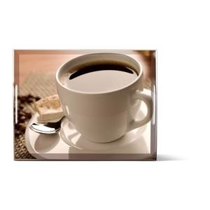 EMSA kratzfestes Tablett CLASSIC 40 Dekor CUP OF COFFEE