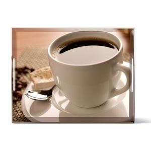 EMSA kratzfestes Tablett CLASSIC 50 Dekor CUP OF COFFEE
