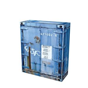 SELF Kommode RUSTY 1 Blau Nachbildung ca. 96 x 120 x 37 cm