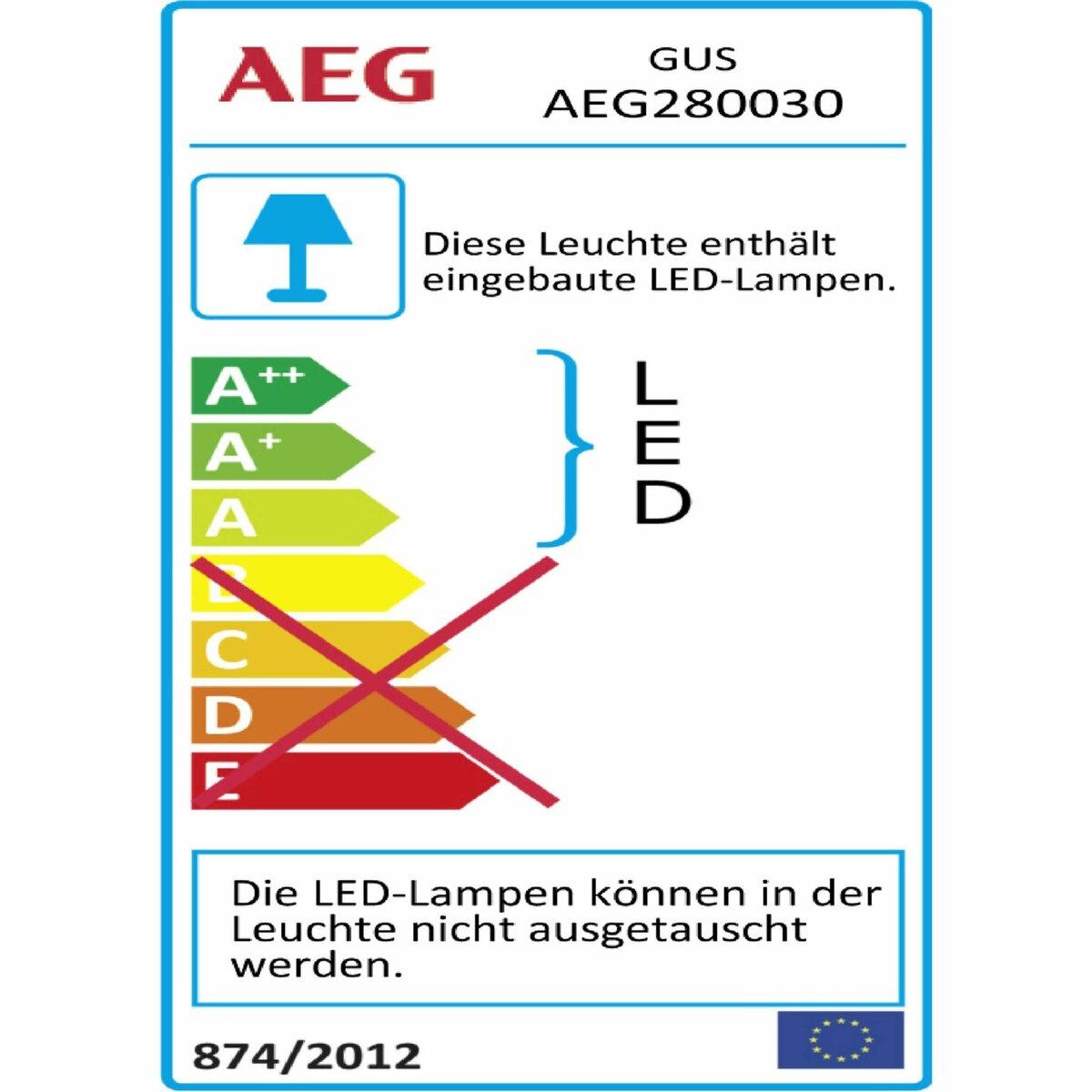 Bild 4 von AEG LED-Außenwandleuchte   Gus