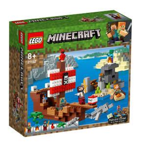 LEGO                Minecraft                  Das Piratenschiff-Abenteuer 21152