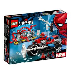 LEGO                Marvel Super Heroes                  Spider-Man Motorradrettung 76113