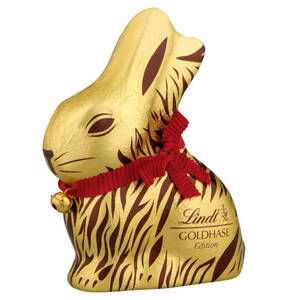 LINDT             Goldhase Safari-Edition Edelvollmilch, 200g