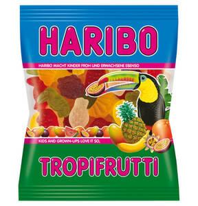 HARIBO             Tropi Frutti Fruchtgummi, 200g                 (10 Stück)