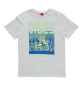 s.Oliver             T-Shirt, Rundhalsausschnitt, Print, für Jungen