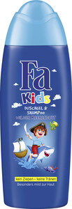 Fa Kids Duschgel & Shampoo Pirat Wilder Meeresduft 250 ml
