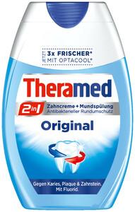 Theramed 2in1 Original Zahncreme + Mundspülung 75 ml