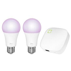 Trust Zigbee Starter Set 2 RGB Bulbs + Z1 Zigbee Bridge ZRGB2-Z1R