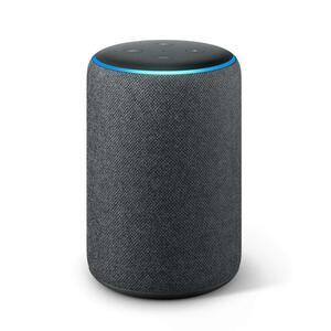 Amazon Echo Plus (2. Gen.) mit integriertem Smart Home-Hub, Premiumklang, Alexa, Anthrazit Stoff