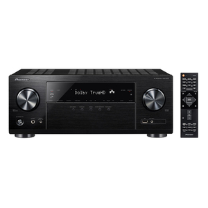 Pioneer VSX-832-B Schwarz - 5.2 AV-Receiver (130 Watt/ Kanal, Bluetooth, Wi-Fi, LAN, Dolby Atmos)