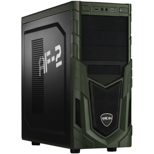 Hyrican Military PCK06163 Gaming-PC [Ryzen 7 2700 / 16GB RAM / 240GB SSD / 1TB HDD / RX 580 / AMD A320 / Win10]