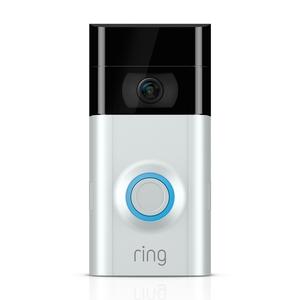 Ring Video Doorbell 2 [1080p Kamera, Infrarot, Gegensprechanlage, WLAN, Akku]