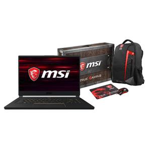 """MSI GS65 8SG-058 Stealth Loot Box Bundle 15,6"""" FHD IPS 144Hz, Core i7-8750H, RTX 2070 Max-Q 8GB, 16GB DDR4, 512GB SSD, W10 Pro"""